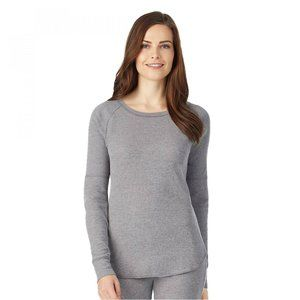 NWT Waffle Scoop Thermal Top Medium Graphite